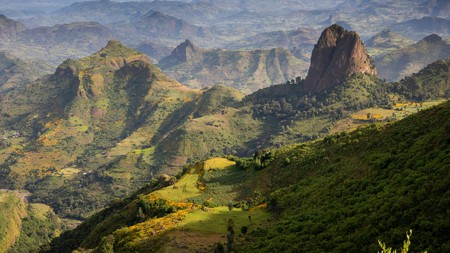 Community tourism in the Ethiopia Highlands has been an active industry since the '90s