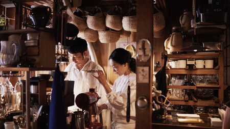 In recent years, a growing number of specialty coffee shops have appeared in Kyoto
