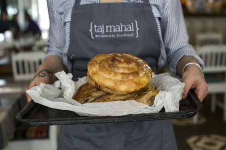 Taj Mahal focuses on Bosnian cuisine
