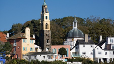 The Welsh village of Portmeirion is among the UK's most romantic places
