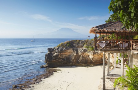 Bali is full of beautiful beaches to explore – and restaurants with views to die for