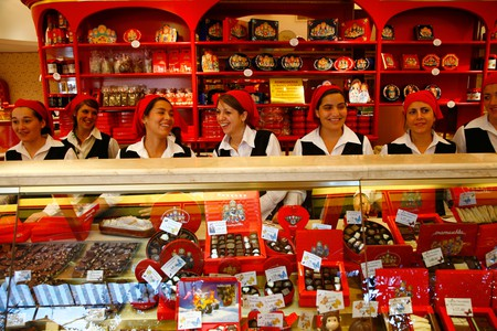 Mamuschka is one of the well-known chocolate shops in Bariloche