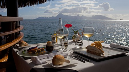 Enjoy delicious dishes in Tahiti