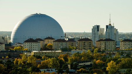 Globen, stockholm, sweden, scandinavia.