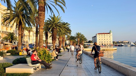 Split has become a far more bike-friendly city in recent years
