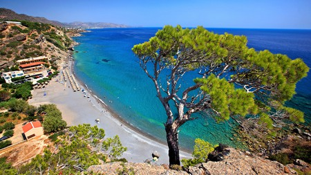 Crete is blessed with a diverse variety of beaches, many backed by forests or dramatic cliffs