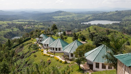 Kibale National Park offers beautiful scenery, comfortable accommodation and the opportunity to spot chimps in their natural habitat