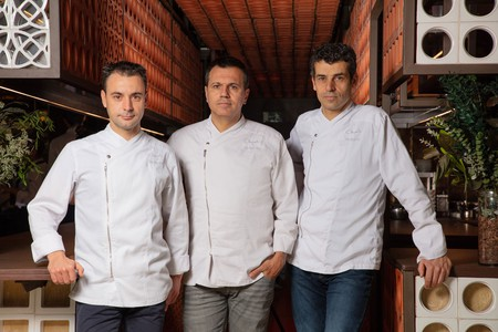 Eduard Xatruch, Mateu Casañas and Oriol Castro