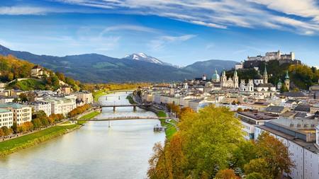 Salzburg is one of Austria's prettiest cities