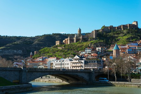Fuel your adventures through Tbilisi's old town at one of the city's many coffee shops