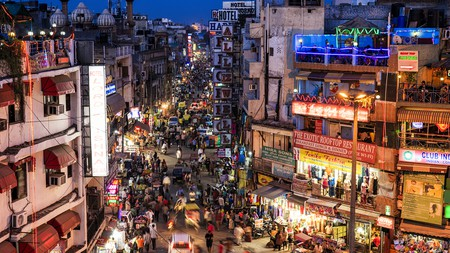 Stay near Paharganj to immerse yourself in Delhi's fast-paced city life