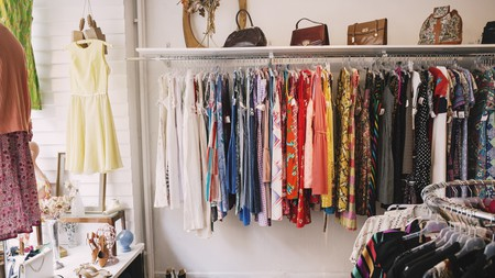 Thrift stores can be treasure troves of fashionable finds