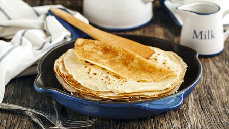 Enjoy pancakes sweet or savoury from our selection of places to visit in Amsterdam
