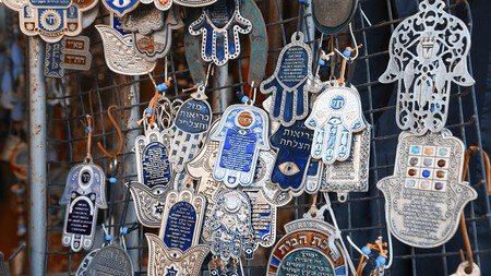 Hands of Fatima are said to keep away bad omens and attract good luck