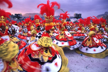 The colourful Rio carnival attracts up to 6m visitors a year