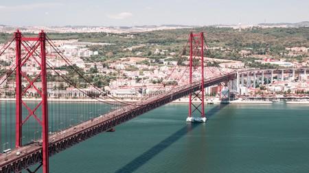 Cross the bridge to Setúbal