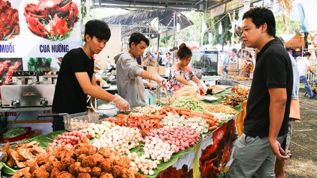 The International Food Festival is just one of Ho Chi Minh City's many food gatherings