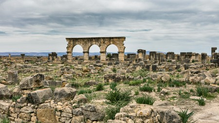 The ancient ruins of Volubilis are a great destination for a day trip