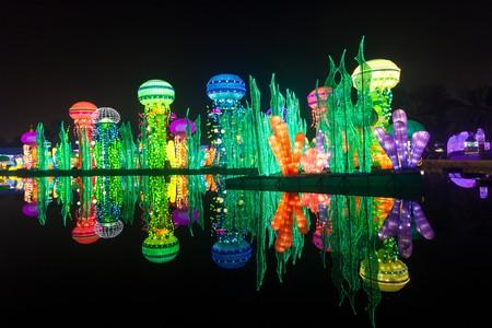The Dubai Garden Glow theme park