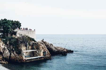 Take in sweeping sea views from Nice's Promenade des Anglais