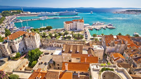 Split is famed for its Venetian architecture and Riva waterfront