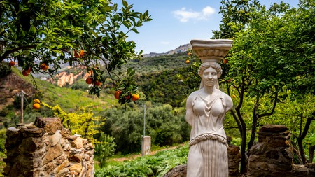 Much of Crete's draw as a wellness destination stems from its varied landscapes