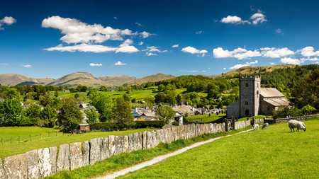 Hawkshead village in Cumbria is just one of the many beautiful places to visit in the UK