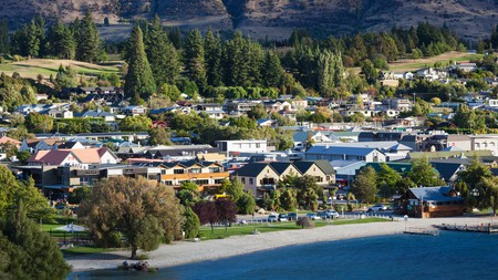Wanaka is a picturesque resort town
