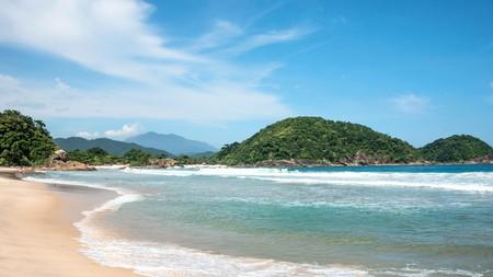 Beach in Trinidade, Paraty, Brazil