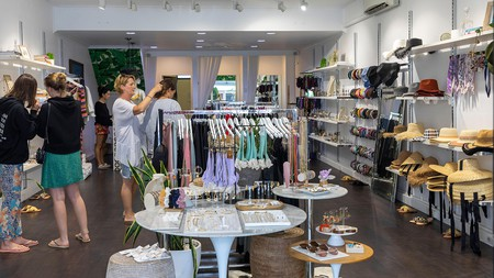 Byron Bay is home to many unique, independent clothing stores