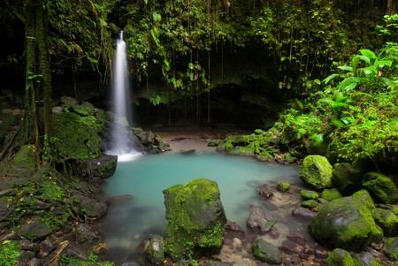 Dominica in the Lesser Antilles is dubbed 'the nature island of the Caribbean' for good reason