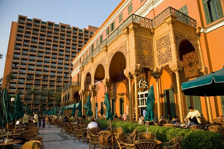 The chic neighbourhood of Zamalek is popular with Cairenes from all walks of life
