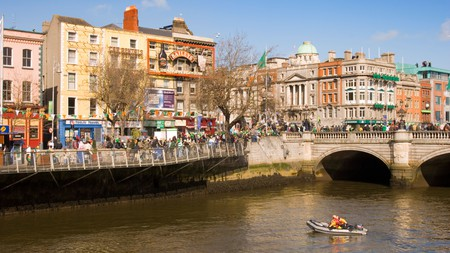 Dublin comes alive during the annual St Patrick's Day Parade