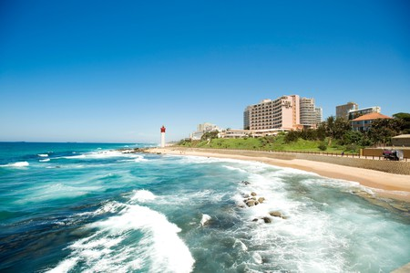 Umhlanga is a popular coastal spot near Durban