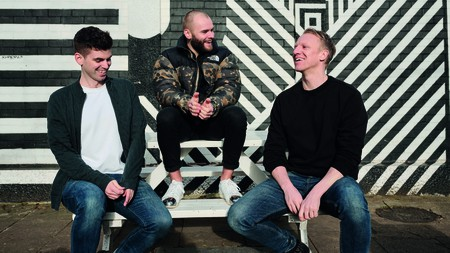 Chris Kelley, Justin Martin and Ollie Jones run DÁPPA – a plant-based ice-cream business based in London