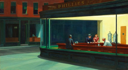 Nighthawks - by Edward Hopper, 1942