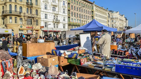 The Naschmarkt is one of Vienna's many markets. Now you can go off the beaten track to experience the city in a new way