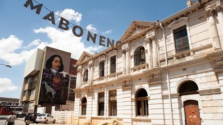 The Maboneng neighbourhood is located in downtown Johannesburg
