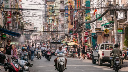 Ho Chi MInh City is a modern metropolis that is nevertheless heavily rooted in its own past