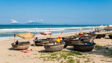 An Bang beach is one of the must-see spots on the coast near Hoi An.