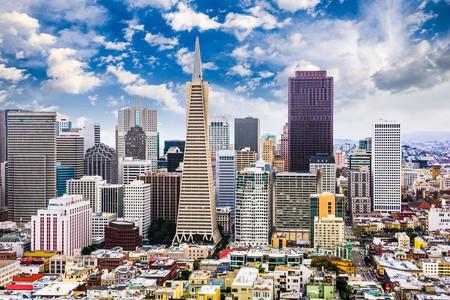 GEB766 San Francisco, California, USA Skyline.