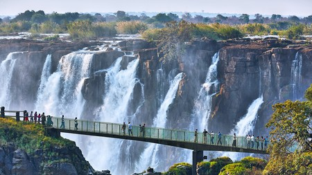 The Mighty Victoria Falls is the world's largest waterfalls