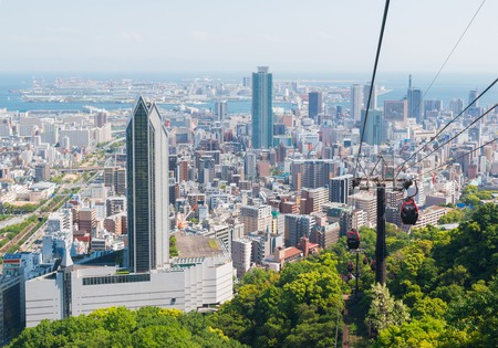 Kobe is a sprawling city, but you can still see the sites on a two-day trip