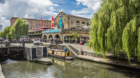 Camden's canals and locks make it a pleasant place to hang out - for free