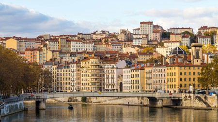 Croix-Rousse forms the heart of Lyon's historic silk district