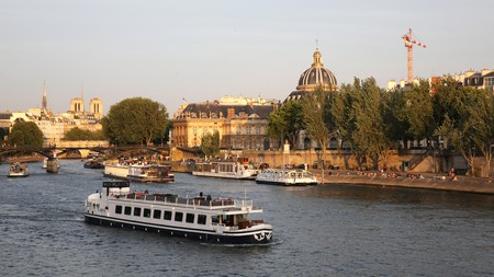 Discover Paris from the Seine on a unique boat tour