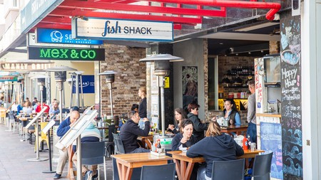 You'll be spoilt for choice when it comes to food options in Manly