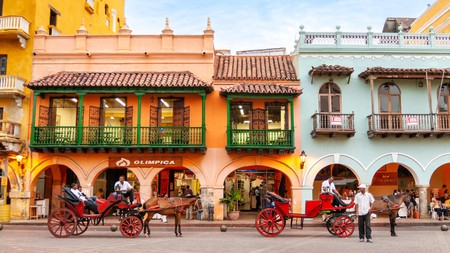 Cartagena is popular with visitors to Colombia