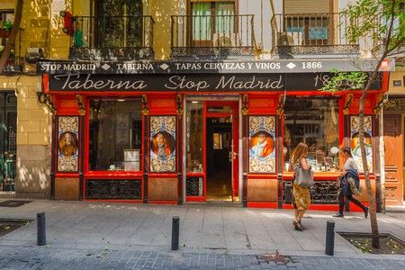 The Spanish capital is famed for its bars, nightlife and of course, its tapas |