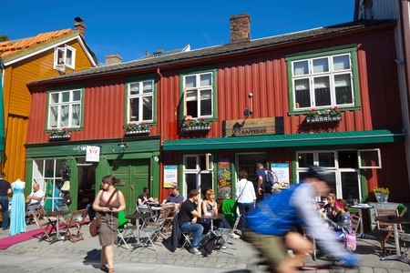 Trondheim's excellent coffee scene means you'll be spoilt for choice anywhere in the city
